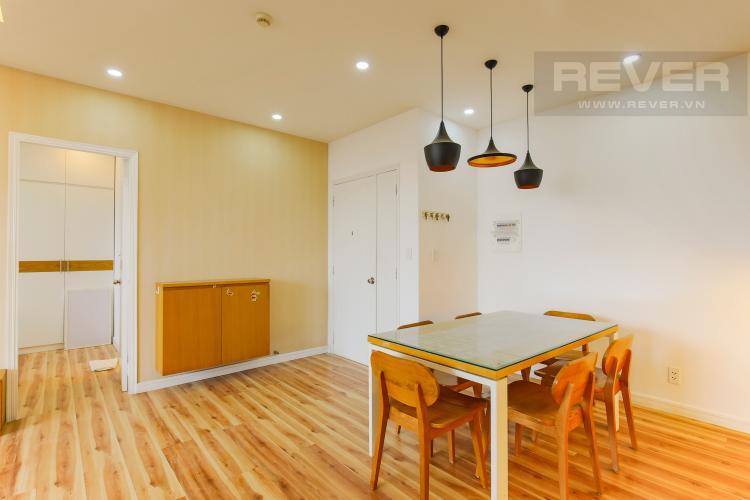 Bàn Ăn Căn hộ tầng cao chung cư Bình Khánh thiết kế đẹp, đầy đủ tiện nghi