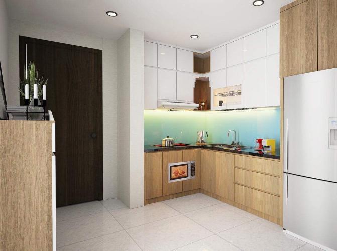 Phòng bếp căn hộ Richstar, Tân Phú Căn hộ RichStar ban công hướng Đông Nam, view đón gió thoáng mát.