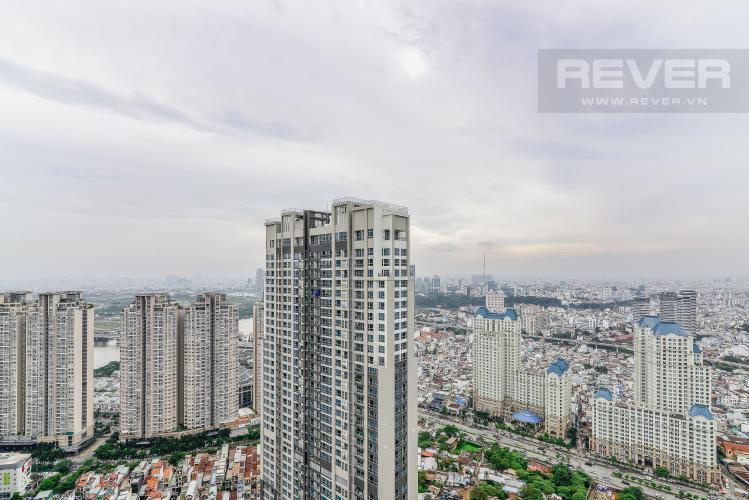 View Cho thuê căn hộ Vinhomes Central Park tầng cao, 3PN rộng rãi, view nội khu