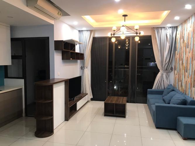 phòng khách căn hộ 2 phòng ngủ estella heights Căn hộ Estella Heights đầy đủ nội thất, view thoáng mát.