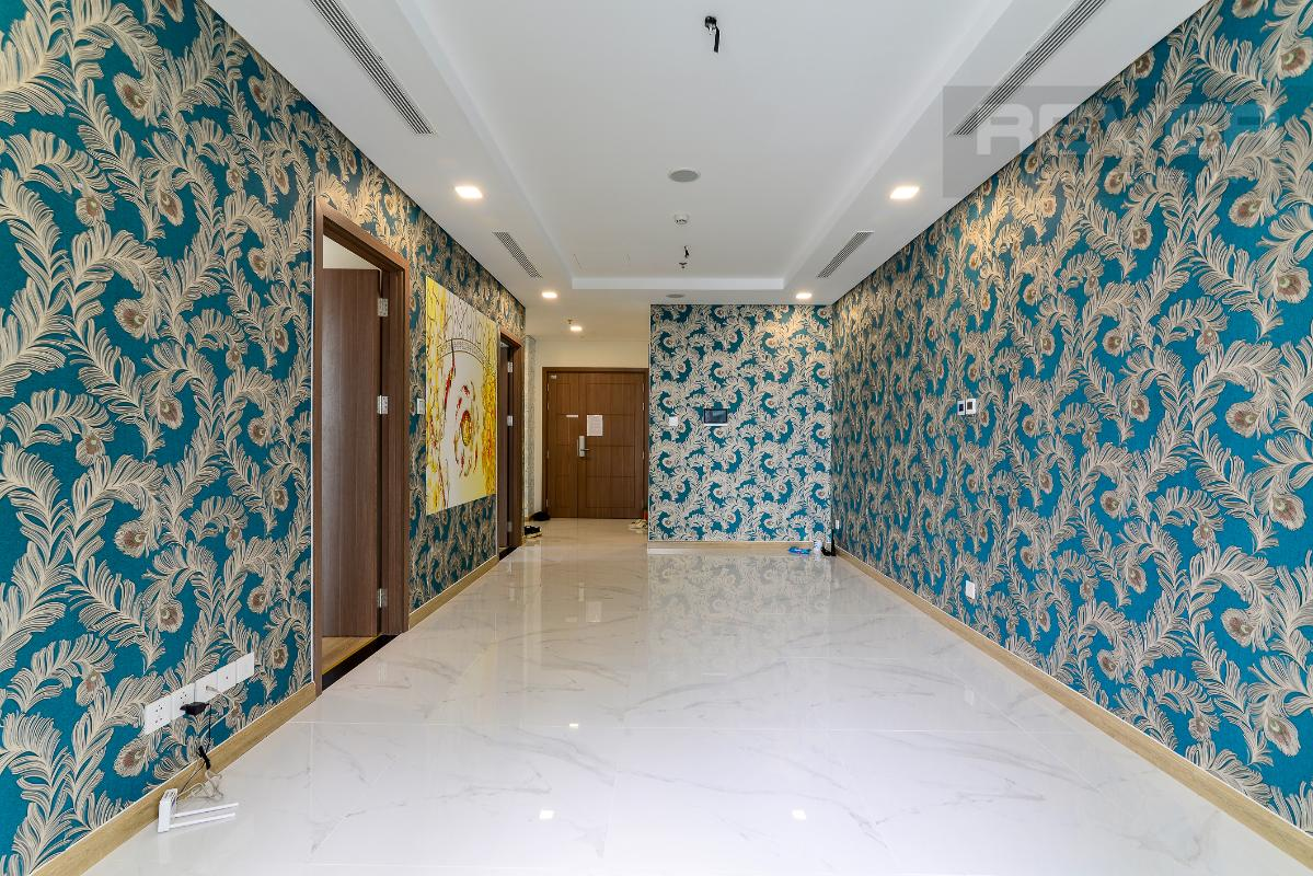 _DSC3995 Cho thuê căn hộ Vinhomes Central Park 2PN, tháp Landmark 81, nội thất cơ bản, là căn góc, view Xa lộ Hà Nội