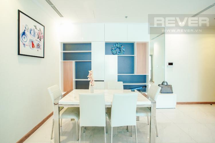 Phòng Ăn Bán căn hộ Vinhomes Central Park hướng Tây Bắc, 103m2 2PN 2WC, nội thất cao cấp, view thành phố