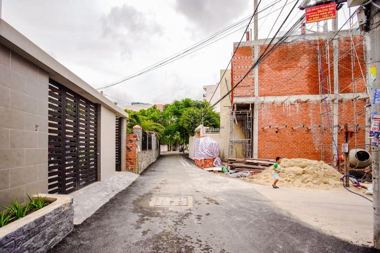 Lối Đi 2 Cho thuê nhà phố 3 tầng đường Thạnh Mỹ Lợi, Q2, đầy đủ nội thất, sổ đỏ chính chủ