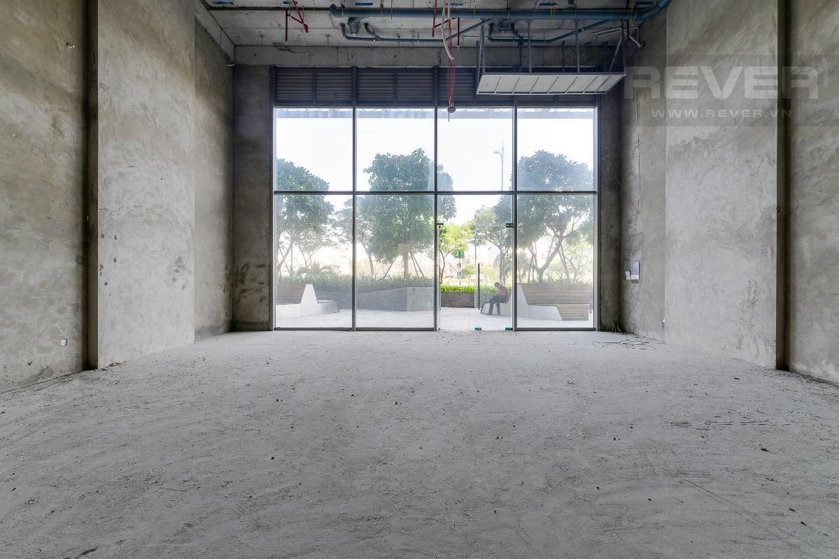 ad1b27efe2ed04b35dfc Cho thuê shophouse Masteri Millennium, block A, diện tích 92m2, bàn giao thô, mặt tiền Bến Vân Đồn Quận 4