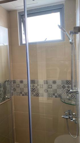 Phòng tắm Palm Heights Quận 2 Căn hộ Palm Heights tầng cao, hướng Đông, view thành phố sầm uất.