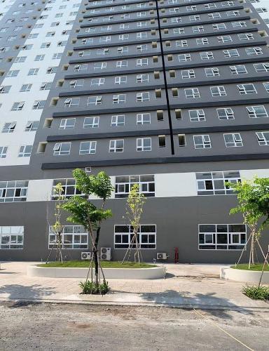 view  căn hộ Topaz Elite quận 8 Căn hộ tầng cao Topaz Elite ban công hướng Đông Nam, bàn giao không nội thất