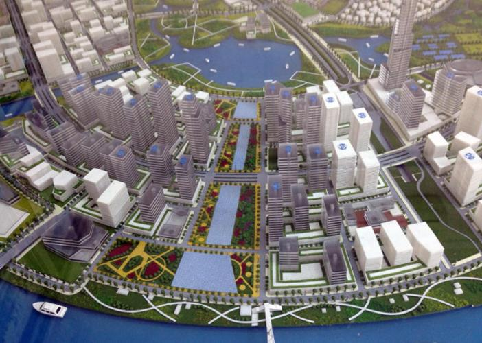 Eco Smart City - Một phần Thủ Thiêm nhìn thấy Eco Smart City.jpg