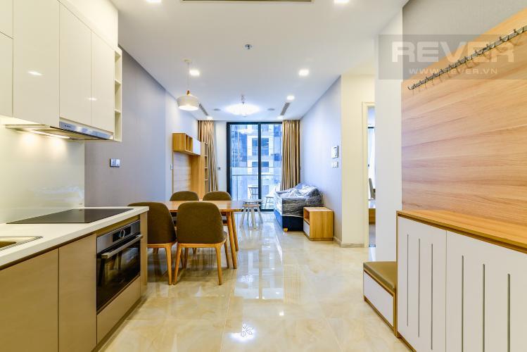 Phòng Khách Cho thuê căn hộ Vinhomes Golden River 1PN, đầy đủ nội thất, ngay trung tâm Quận 1