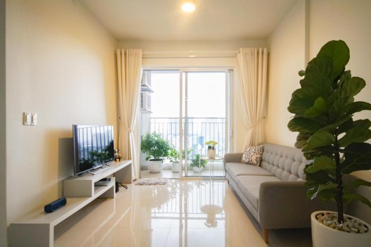 Cho thuê căn hộ 2 phòng ngủ Galaxy 9, tầng cao, đầy đủ nội thất, view thành phố thoáng rộng
