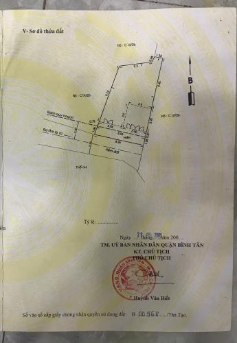 Bản vẽ nhà phố Tỉnh lộ 10, Bình Tân Nhà phố diện tích 96.9m2, nằm trong khu dân cư khép kín, yên tĩnh.