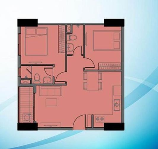 Mặt bằng bố trí căn hộ Bcons Garden Căn hộ Bcons Garden nội thất cơ bản, view tầng cao thoáng mát.