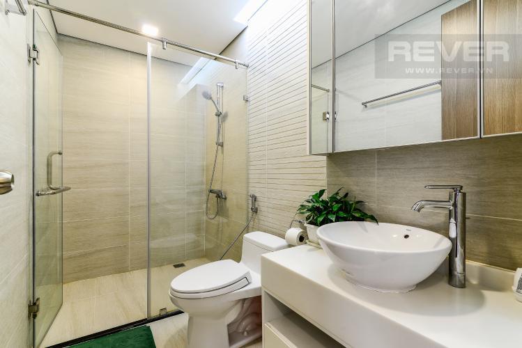 Phòng tắm Officetel 1 phòng ngủ căn hộ Vinhomes Central Park, tầng thấp, full nội thất