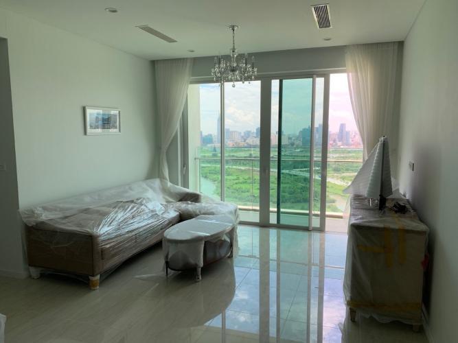 Phòng khách căn hộ Sadora Apartment, Quận 2 Căn hộ Sadora Apartment tầng cao, view thành phố tuyệt đẹp.