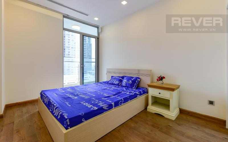 phòng ngủ Căn hộ Vinhomes Central Park tầng thấp Park 6 view nội khu