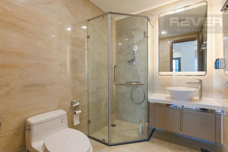 Phòng Tắm 2 Căn hộ Vinhomes Central Park 2PN, tầng cao, tháp Landmark 81, view sông