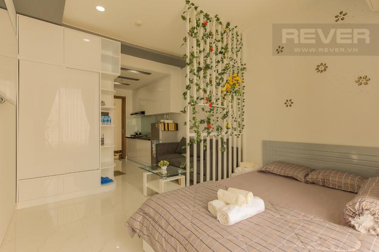 Phòng Ngủ Officetel RiverGate Residence 1 phòng ngủ tầng trung tháp B hướng Đông Bắc