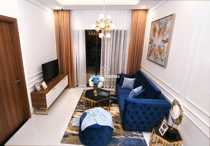phòng khách căn hộ Q7 Saigon Riverside Complex Bán căn hộ Q7 Saigon Riverside tầng cao, nội thất cơ bản.