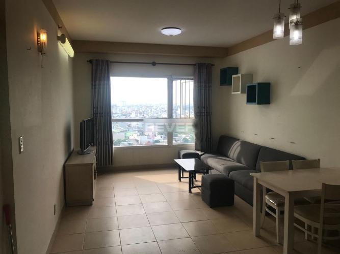 Phòng khách Phú Gia Hưng Apartment, Gò Vấp Căn hộ Phú Gia Hưng Apartment tầng trung, nội thất cơ bản.