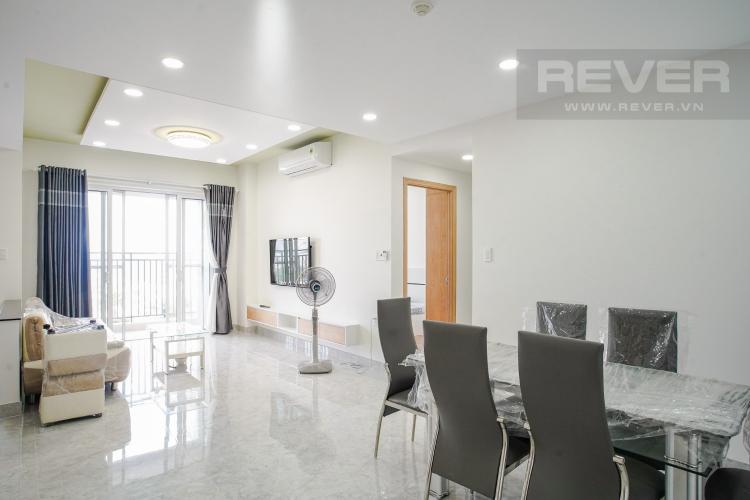 Phòng Khách Bán hoặc cho thuê căn hộ Sunrise CityView 3PN, đầy đủ nội thất, view hồ bơi thoáng mát