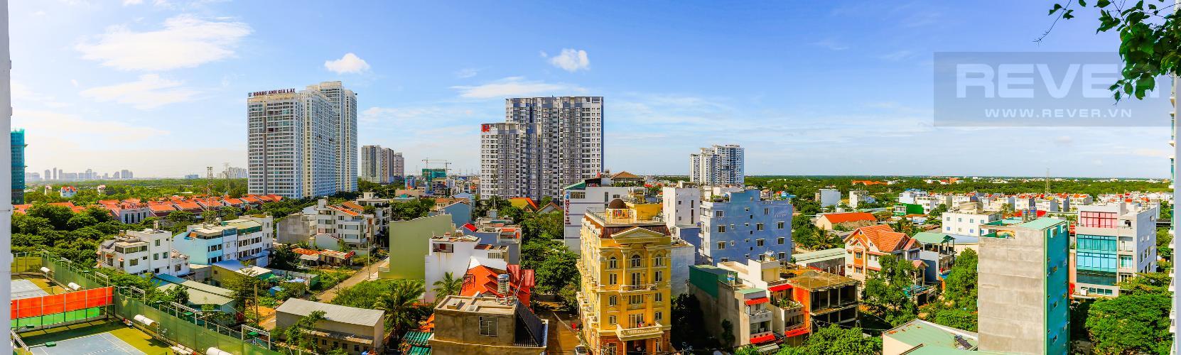 View Căn hộ New Sài Gòn, tầng trung, tòa C, 2 phòng ngủ, full nội thất.