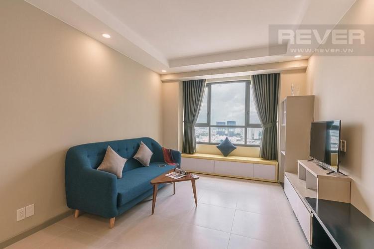 Cho thuê căn hộ The Gold View 2PN, tháp A, diện tích 62m2, đầy đủ nội thất, view thành phố
