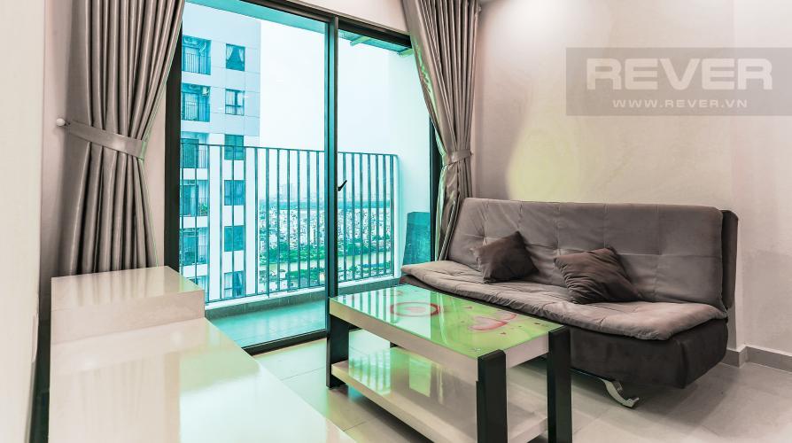 Phòng Khách Căn hộ M-One Nam Sài Gòn tầng cao, tháp T2, 2 phòng ngủ, view sông