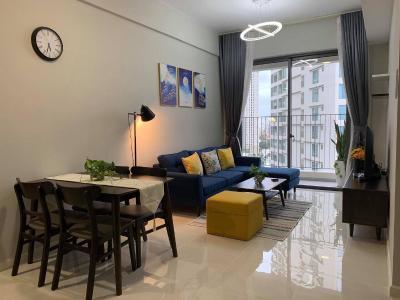 Cho thuê căn hộ Masteri An Phú 2PN, tầng trung, tháp A, đầy đủ nội thất, view nội khu Gateway