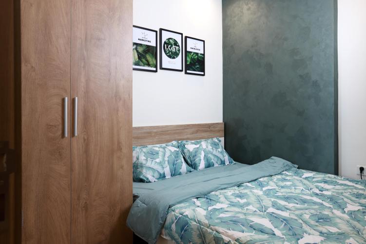 Phòng ngủ Vinhomes Grand Park Quận 9 Căn hộ Vinhomes Grand Park tầng trung mát mẻ, đầy đủ nội thất.