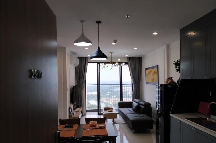 Căn hộ tầng cao Vinhomes Grand Park view thành phố, đầy đủ nội thất.
