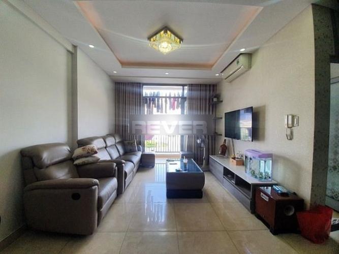 Căn hộ góc tầng 4 LuxCity thiết kế hiện đại, đầy đủ nội thất.
