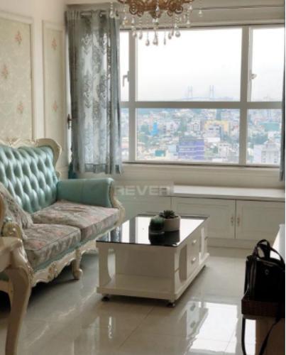 Căn hộ Sunshine City tầng trung, nội thất đầy đủ sang trọng.