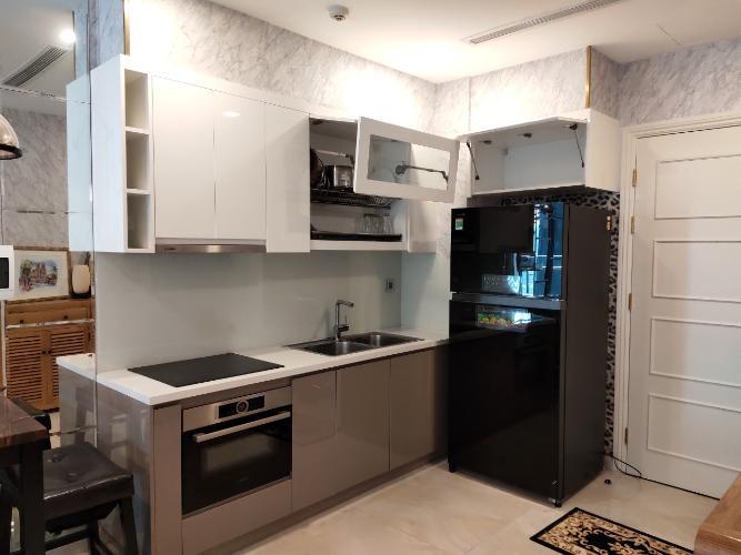 phòng bếp Vinhomes Golden River Căn hộ 1 phòng ngủ Vinhomes Golden River đầy đủ nội thất, tầng trung