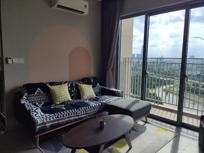 Căn hộ Palm Heights đầy đủ nội thất tiện nghi, view thành phố.