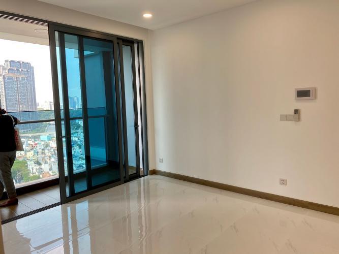 Phòng khách Sunwah Pearl, Bình Thạnh Căn hộ Sunwah Pearl tầng cao, bàn giao nội thất cơ bản.