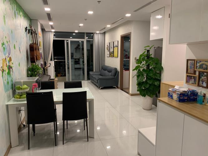 Căn Officetel Vinhomes Central Park thiết kế hiện đại, đầy đủ nội thất.