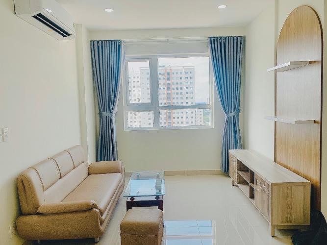 Căn hộ Topaz Elite tầng 22 đầy đủ nội thất, view thoáng mát.