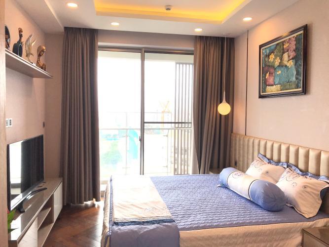 Phòng khách căn hộ Phú Mỹ Hưng Midtown Căn hộ tầng cao Phú Mỹ Hưng Midtown, nội thất cao cấp đầy đủ.