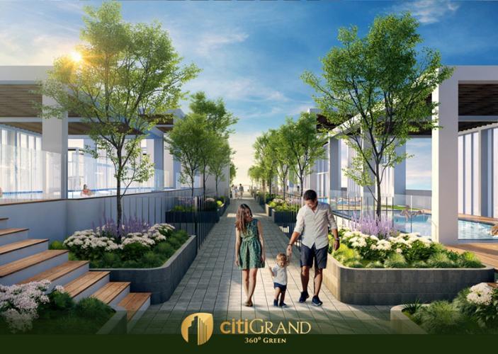 Tiện ích City Grand Quận 2 Căn hộ Citi Grand 2 phòng ngủ, nội thất cơ bản.