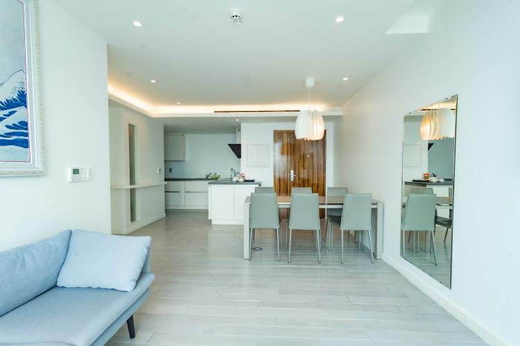 Căn hộ tầng 8 Léman Luxury Apartments 2 phòng ngủ, đầy đủ nội thất.