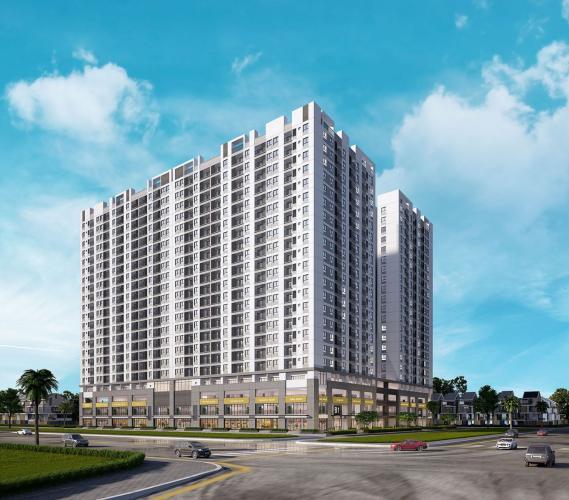 Phối cảnh dự án căn hộ Q7 Boulevard Bán căn hộ Q7 Boulevard tầng trung, diện tích 69m2, 2 phòng ngủ, chưa bàn giao.