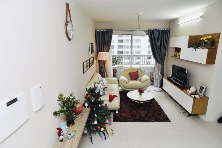 Phòng khách căn hộ Lexington Residence, Quận 2 Căn hộ tầng 12 Lexington Residence hướng Tây Bắc, đầy đủ nội thất.