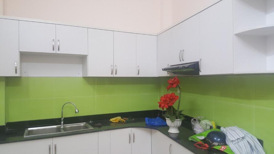 Phòng bếp nhà phố Nhà phố mặt tiền diện tích 5mx10m, thuận tiện kinh doanh.