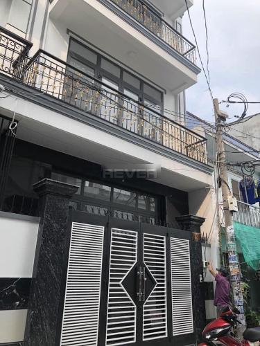 Mặt tiền nhà phố Quận Bình Tân Nhà phố Q.Bình Tân hướng Nam 1 trệt 3 lầu diện tích sử dụng 240m2.