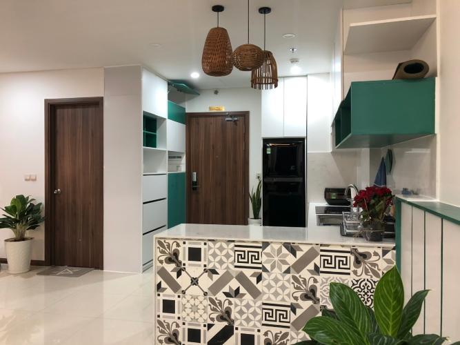 Căn hộ HaDo Centrosa Garden tầng 25 thiết kế hiện đại, đầy đủ nội thất.