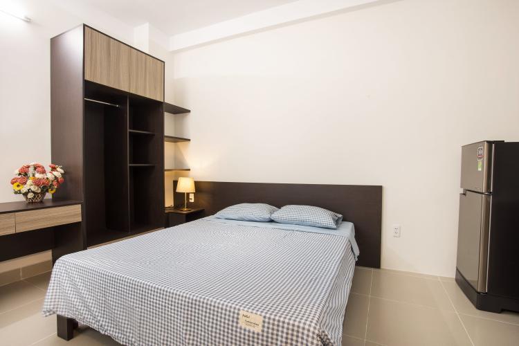 Căn hộ Studio đầy đủ nội thất, nhiều tiện ích.