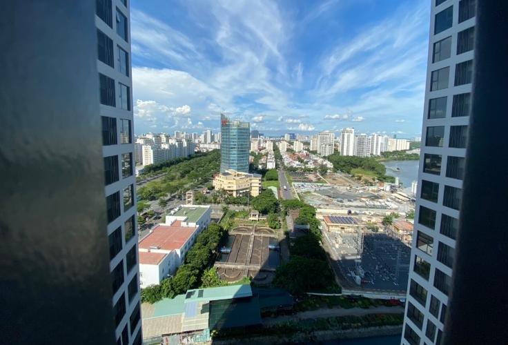 View thành phố Lavida Plus Office-tel Lavida Plus tầng thấp, ban công thông thoáng.