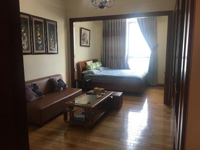Phòng khách The Manor Quận Bình Thạnh Căn hộ tầng cao The Manor nội thất cao cấp, view thành phố.