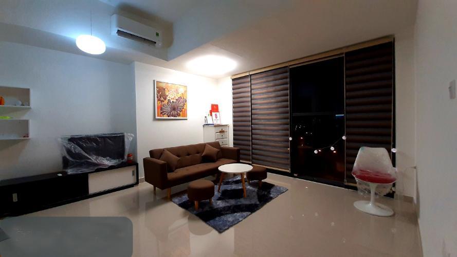 Phòng khách officetel The Sun Avenue Cho thuê officetel The Sun Avenue tầng thấp, block 7, diện tích 41.4m2 - 1 phòng ngủ, đầy đủ nội thất