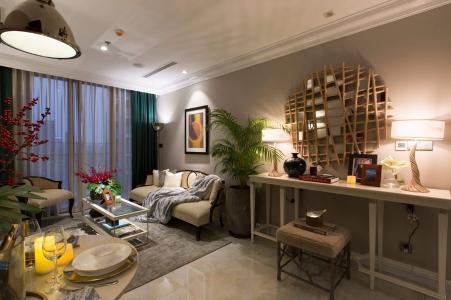 Bán căn hộ Vinhomes Golden River tầng trung, 1 phòng ngủ, diện tích 45m2, đầy đủ nội thất.
