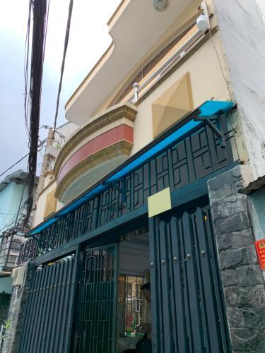 Nhà phố hẻm Tôn Đản diện tích đất 41.9m2, cửa hướng Đông Nam